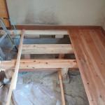 土台の改修工事