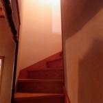 エコリフォームの具体例>階段かべリフォーム 手すり付